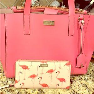 Handbag and wallet combo.